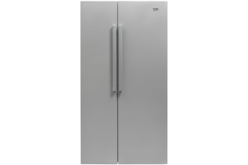 Side by side Beko GN163022S, NeoFrost, 558 l, Clasa A+, H 182, Silver