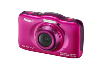 Aparat foto digital Nikon COOLPIX WATERPROOF W100, Pink