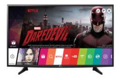Televizor LED Smart LG, 108 cm, 43UH6107, 4K Ultra HD- Un Smart TV cu functii de ultima generatie !