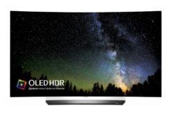 Televizor OLED Curbat Smart LG, 139 cm, OLED55C6V, 4K Ultra HD, 3D- Design Ultra Modern