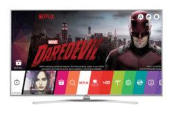 Televizor Super UHD Smart LG, 139 cm, 55UH7707, 4K Ultra HD- Un design Ultra Slim !