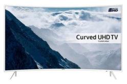 Televizor LED Curbat Smart Samsung, 109 cm, 43KU6510, 4K Ultra HD