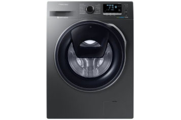 REVIEW – Masina de spalat rufe Samsung Eco Bubble AddWash WW90K6414QX/LE – 1400 RPM, 9 kg, Inverter, Clasa A+++, Inox