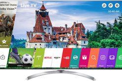REVIEW – Televizor Super UHD Smart LG 55SJ810V – Elegant si performant!
