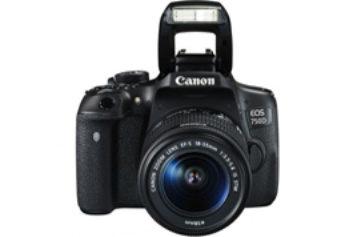 Aparat foto DSLR Canon EOS 750D+ Obiectiv EF-S 18-55mm IS STM – Pentru pasionatii de fotografie
