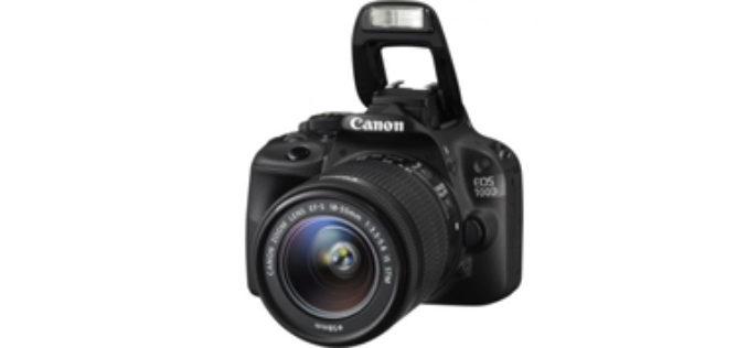Aparat foto DSLR Canon EOS 100D + Obiectiv EF-S 18-55mm IS STM