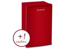 Congelator Oursson FZ0805/RD, 80 L, Clasa A+ – Caserole Bonus si 24 luni garantie