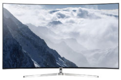 Televizor LED Curbat Smart Samsung, 108 cm, 43KU6502, 4K Ultra HD