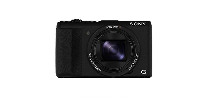 Aparat foto digital Sony Cyber-Shot DSC-HX60V, 20MP, GPS, Black