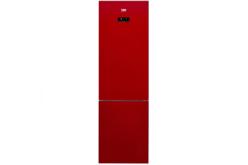 Combina frigorifica Beko RCNA400E20ZGR, 347 l, Clasa A+, H 201, Iluminare Led, Sticla rosie, Un plus de culoare in orice bucatarie !