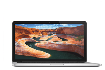 Laptop Apple MacBook Pro 13 cu procesor Intel® Dual Core™ i5 2.70GHz, Broadwell™, 13.3″, Ecran Retina, 8GB, 256GB SSD, Intel® Iris™ Graphics 6100, OS X Yosemite, INT KB