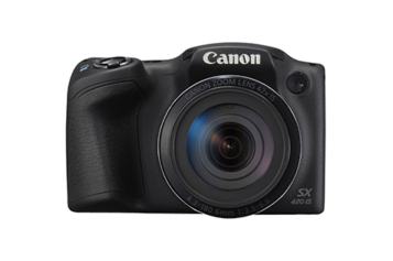 Aparat foto digital Canon PowerShot SX420 IS, 20MP, Black