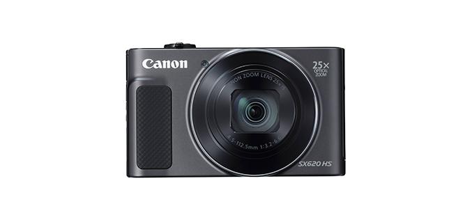 Aparat foto digital Canon SX620HS, 20.2MP, Negru