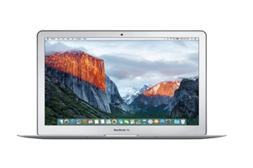 Laptop Apple MacBook Air 13 cu procesor Intel® Dual Core™ i5 1.60GHz, 13.3″, 8GB, 256GB SSD, Intel® HD Graphics 6000, OS X El Capitan, INT KB