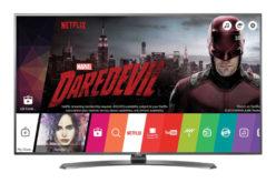 Televizor LED Smart LG, 108 cm, 43UH661V , 4K Ultra HD- O rezolutie incredibila 4K !