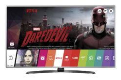 Televizor LED Smart LG, 123 cm, 49UH661V, 4K Ultra HD, Wi-Fi- Calitate incredibila si consum redus!