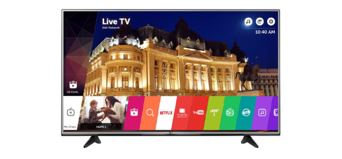 Televizor LED Smart LG, 139 cm, 55UH605V , 4K Ultra HD- Subtire , metalic si modern !