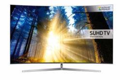 Televizor SUHD Curbat Smart Samsung, 198 cm, 78KS9000, 4K Ultra HD – Ecran curbat si diagonala mare!