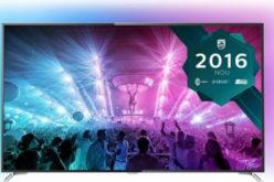 Televizor LED Smart Android Philips, 164 cm, 65PUS7101/12 – Rezolutie 4K Ultra HD si performante incredibile