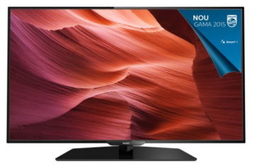 Televizor Smart LED Philips, 101 cm, 40PFH5300/88, Full HD – Diagonala mare la un pret accesibil