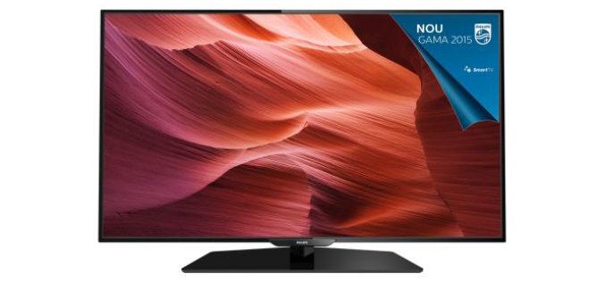 Televizor Smart LED Philips, 101 cm, 40PFH5300/88, Full HD – Diagonala mare la un pret accesibil