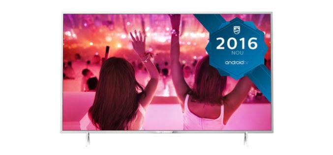 Televizor LED Smart Android Philips, 102 cm, 40PFS5501/12, Full HD-Imagini care va uimesc!