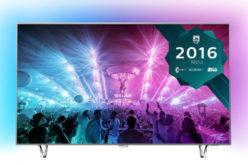 Televizor LED Smart Android Philips, 164 cm, 65PUS7601/12, 4K Ultra HD- O diagonala mare si cele mai naturale culori !