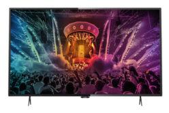 Televizor LED Smart Philips, 139 cm, 55PUH6101/88, 4K Ultra HD